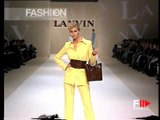 """Lanvin"" Spring Summer 1997 Paris 2 of 6 pret a porter woman by FashionChannel"