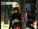 """Junya Watanabe"" Spring Summer 1997 Paris 5 of 5 pret a porter woman by FashionChannel"