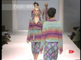 """""""Missoni"""" Spring Summer 1997 Milan 1 of 4 pret a porter woman by FashionChannel"""