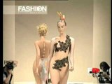 """Alexander Mcqueen"" Spring Summer 1996 Paris 5 of 5 pret a porter woman by FashionChannel"