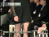 """Piano Piano DolceCarlotta"" Autumn Winter 1995 1996 Milan 1 of 3 pret a porter woman by FashionChannel"