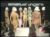 """""""Emanuel Ungaro"""" Autumn Winter 1995 1996 Paris 5 of 6 pret a porter woman by FashionChannel"""