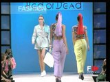 """""""Red or Dead"""" Spring Summer 1995 London 3 of 5 pret a porter woman by FashionChannel"""
