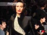 """""""Claude Montana"""" Autumn Winter 1992 1993 Paris 3 of 3 Pret a Porter Woman by FashionChannel"""