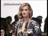 """Genny"" Spring Summer 1992 Milan 1 of 3 Pret a Porter Woman by FashionChannel"