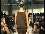 """""""Massimo Rebecchi"""" Spring Summer 2001 Milan 2 of 4 pret a porter woman by FashionChannel"""