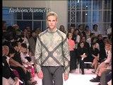 """Burberry"" Spring Summer 2001 Milan 2 of 4 Menswear by FashionChannel"