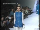 """""""Claude Montana"""" Autumn Winter 1991 1992 Paris 1 of 3 Pret a Porter Woman by FashionChannel"""