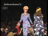 """Karl Lagerfeld"" Autumn Winter 1991 1992 Paris 1 of 3 Pret a Porter Woman by FashionChannel"