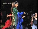 """""""Emanuel Ungaro"""" Autumn Winter 1991 1992 Paris 2 of 3 Pret a Porter Woman by FashionChannel"""