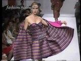 """""""Raffaella Curiel"""" Autumn Winter 1991 1992 Rome 7 of 12 Haute Couture Woman by FashionChannel"""