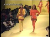 """Enrico Coveri"" Autumn Winter 1991 1992 Milan 1 of 3 pret a porter woman by FashionChannel"