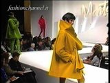 """""""Claude Montana"""" Autumn Winter 1993 1994 Paris 4 of 7 pret a porter woman by FashionChannel"""