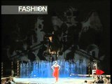 """Gai Mattiolo"" Autumn Winter 1997 1998 Rome 8 of 9 Haute Couture woman by FashionChannel"