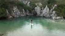 Así es la playa de GULPIYURI en Naves, Llanes, Asturias