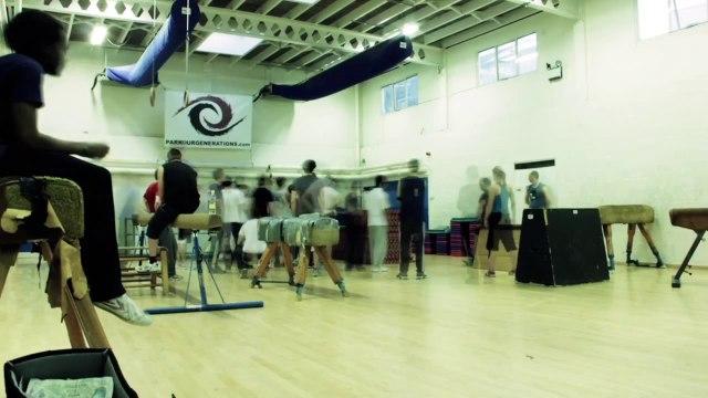 'Glimmer' - Parkour Academy Class Timelapse