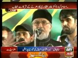 Dr. Tahir-ul-Qadri Speech in PAT Inqilab March at Islamabad - 11th September 2014