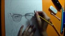 Walter White - Breaking Bad - Speed Drawing