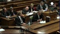 Pistorius still faces homicide verdict, cleared of murder