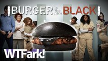 BURGER IS THE NEW BLACK: Burger King Brings Back Black Burger In Japan. Key Ingredient? Bamboo Ash. Yum...