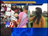 Peacfully protesting T-women journalists arrested