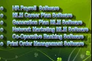 Billing Software, Banking Software, Retail POS Software, Salary Software, Printer Software, NBFC Software, MLM Generation Plan