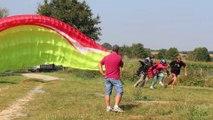 décollage parapente le 7 Septembre 2014