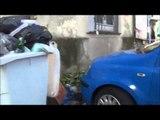 Aversa (CE) - Biblioteca e Via Gemito: cittadini segnalano mancato prelievo di rifiuti (11.09.14)