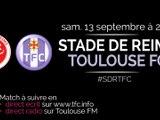 2014 Ligue 1 J05 REIMS TOULOUSE , l'avant match, le 12/09/2014