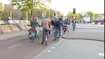 Avez-vu déjà vu la circulation en heure de pointe aux Pays Bas ?