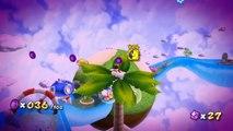 Super Mario Galaxy - Boucle océane - Étoile 5 : Les pièces violettes de la boucle océane