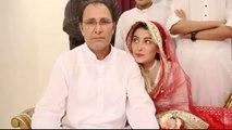 Ayeza Khan  & Danish Taimoor Nikaah Video | Ayeza Khan's Father Praying for Her