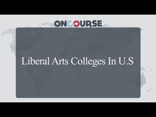 Study In USA || Liberal Arts Colleges || On Course