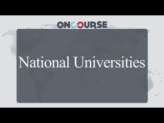Study In USA || National Universities || On Course