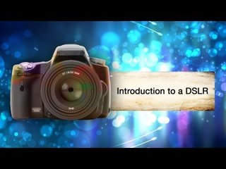 Introduction To The DSLR Camera || Shraddha Kadakia