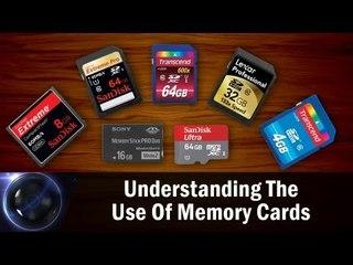 Understanding The Use Of Memory Cards || Shraddha Kadakia