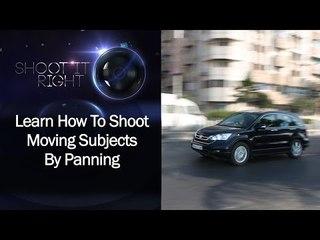 Learn How To Shoot Moving Subjects By Panning || Shraddha Kadakia