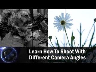 Learn How To Shoot With Different Camera Angles|| Shraddha Kadakia