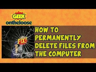 How To Permanently Delete Files From The Computer Episode 23 with Ankit Fadia