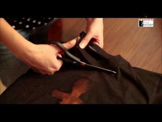 DIY    Black Bleached Tee    StyleCracker
