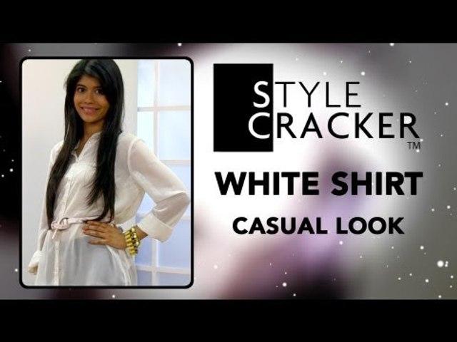 Casual Chic Look II White Shirt II StyleCracker