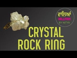 Make Your Own Accessories || Crystal Ring || Nitya Arora || DIY