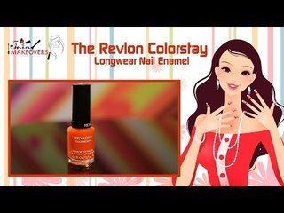 Diwali Special || The Revlon Colorstay - Longwear Nail Enamel || Product Review || The Cloakroom