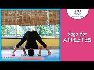 Prasarita Padottanasana || Wide Legged Forward Bend Pose || Yoga For Athletes