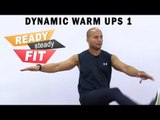 Warm -Up Exercises || Stretches & Kicks To Improve Leg Muscles