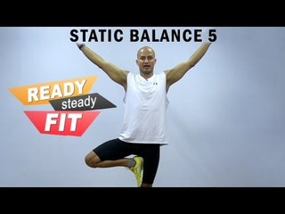 Get Ready To Work Out || Improve Balance || Enhance Stability With Props|| Advanced level || Part 5