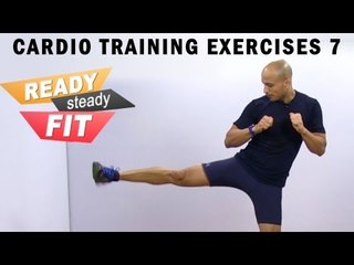 Get Ready To Work Out || Cardio Training Exercises || Kicks and Punches 2 || Part 7