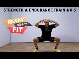 Salman Khan Strength & Endurance Workout || Squats And Kicks || Part 5