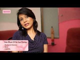 Dr. Jaishree Sharad || Fish Spa Therapy || Skinfiniti