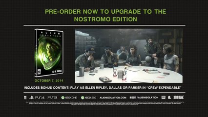 Alien - Isolation - How Will You Survive - Official Gameplay Trailer (HD 1080p)